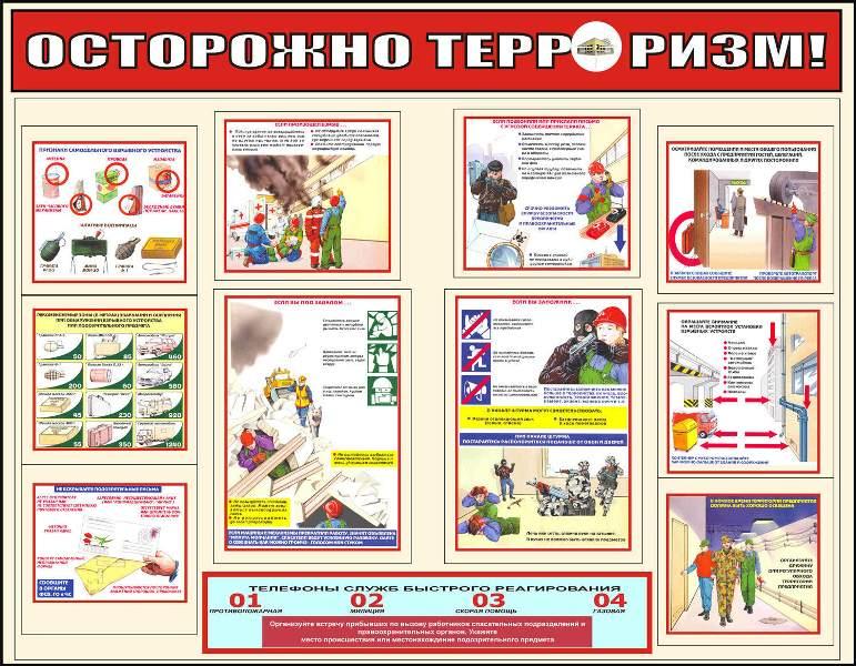 инструкция по безопасности террористической - фото 11
